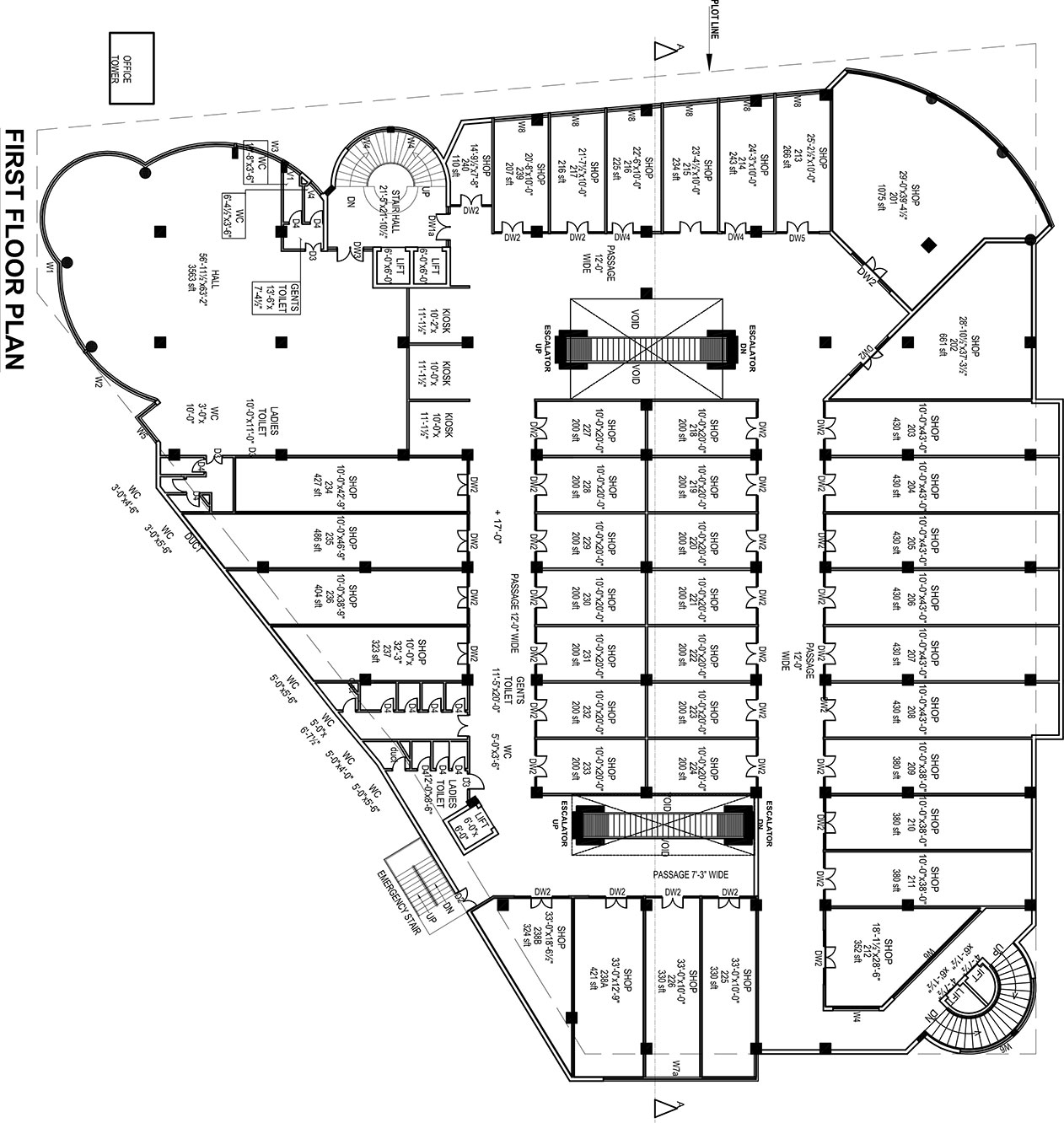 First second floor details ideas real estate marketing for Real estate floor plan pricing